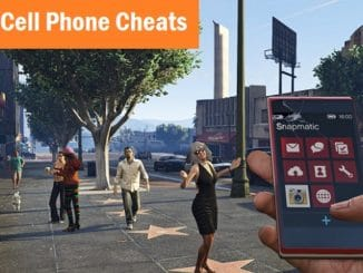how to use cell phone in gta 5