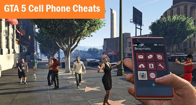GTA 5 Cell Phone Cheats - Full Confirmed List Grand Theft