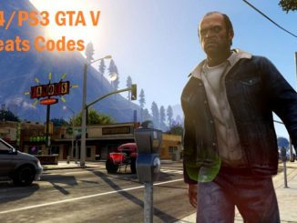 GTA 5 Cheat Codes PS4 / PS3 - Complete list