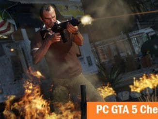 PC GTA 5 Cheats codes - Grand Theft Auto V cheats for PC