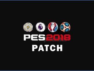 Patch PES 2018 CYPES 2.1 pour PS4 et PC