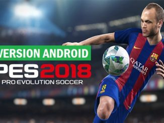 Télécharger PES 2018 version Android APK + OBB Free Download