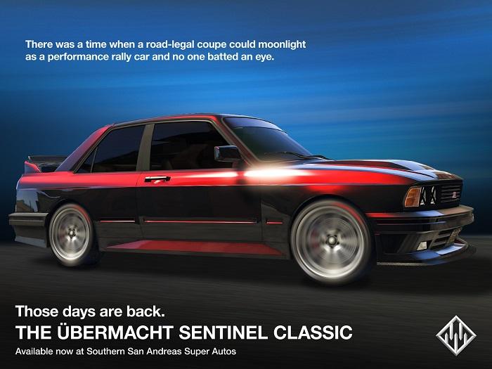 GTA Online Ubermacht Sentinel classique