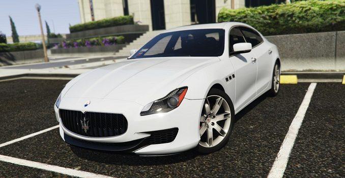 Maserati Quattroporte GTS 2015 GTA 5 Mods Téléchargement GTA V