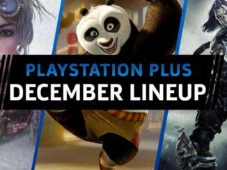 PlayStation Plus jeux Decembre 2017 offerts pour PS4-PS3-Vita dévoilé