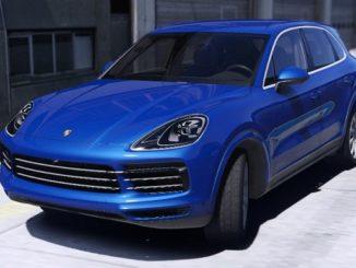 Porsche Cayenne S 2018 - GTA 5 Mods