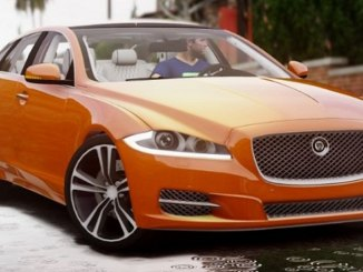Jaguar XJ berline luxe gta 5 mods pc - télécharger
