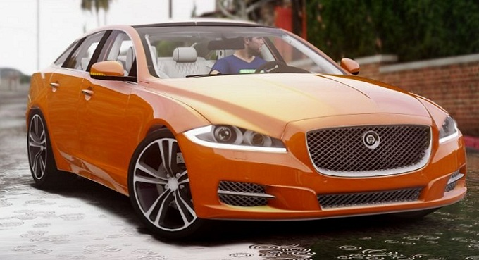 jaguar xj berline luxe gta 5 mods pc t l charger kazyoo acheter prix discount. Black Bedroom Furniture Sets. Home Design Ideas