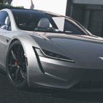 Tesla Roadster 2020 Mods GTA 5