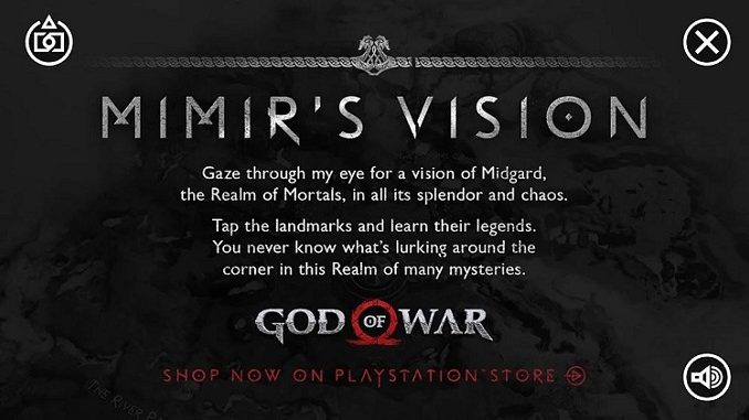 Application god of war mimir vision