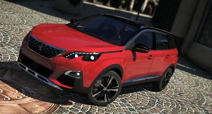 Peugeot 5008 2018 Grand Theft Auto V Mods