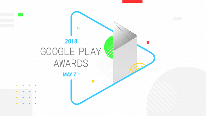 Google Play Awards 2018 meilleures applications Android de l'année 2018.