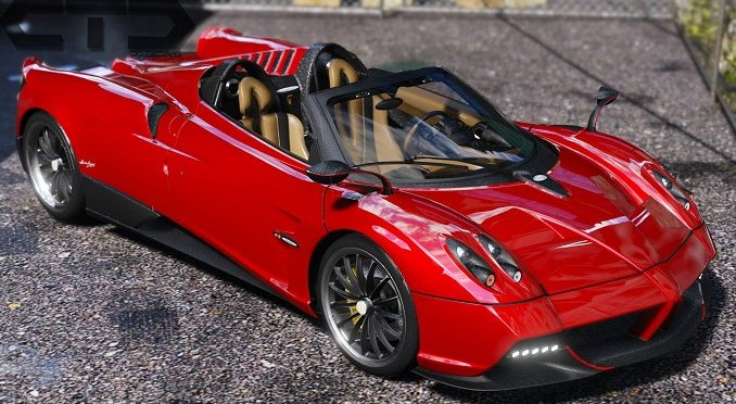Pagani Huayra Roadster 2018 gta 5 mod