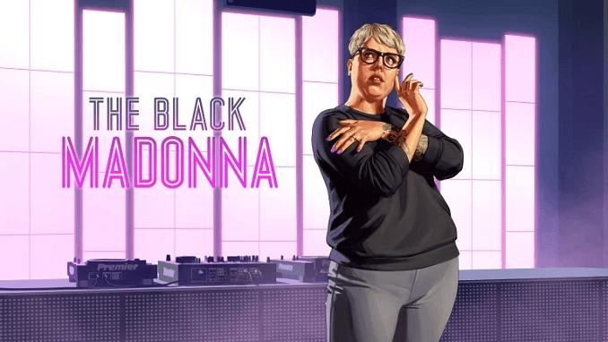 gta online NOUVELLE DJ THE BLACK MADONNA