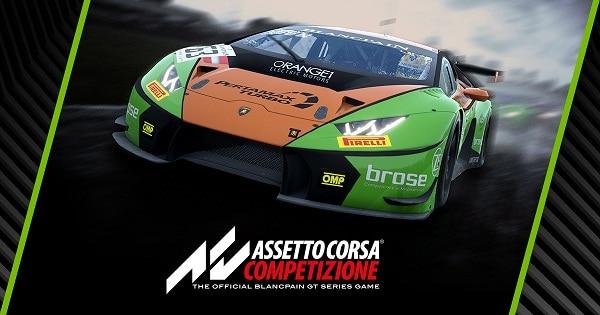 Assetto Corsa Competizione jeu PC