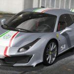 Ferrari 488 Pista 2019 GTA V Mod