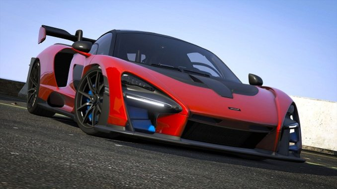 GTA 5 GTA V McLaREN SENNA 2019
