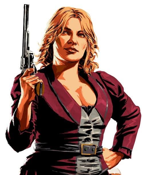 Karen Jones - Escroc accomplie sachant manier les armes
