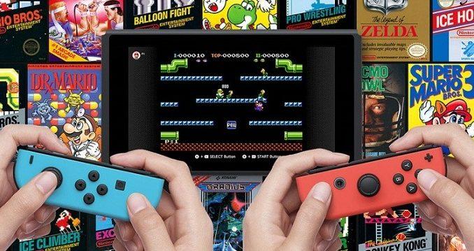 Nintendo Switch Online Tarification et la liste des jeux