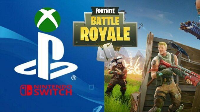 cross-play fortnite ps4 multijoueur partagé avec Xbox et Switch
