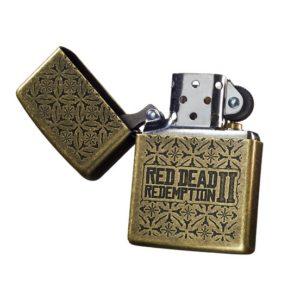Red Dead Redemption 2 Brass Zippo Lighter