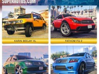 gta online Southern San Andreas Super Autos gta$ doublés