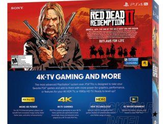 105 Go Minimun -Tout savoir sur le Bundle PS4 Pro Red Dead Redemption 2