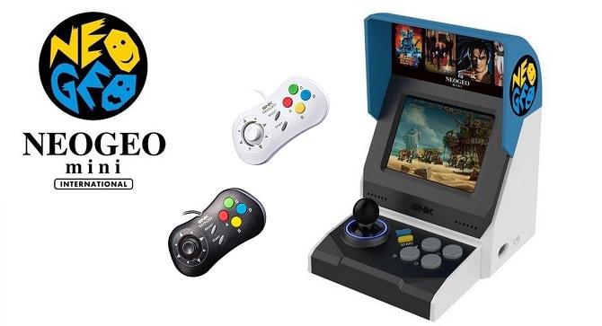 NEO GEO Mini console au prix fort borne et manette