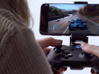project xcloud microsoft xbox jeu en streaming à distance sur mobile