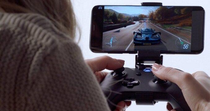 project xcloud microsoft xbox jeu en streaming à distance sur mobile