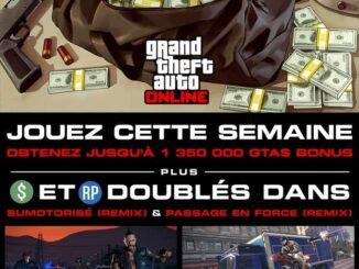 1,350,000 GTA$ bonus GTA Online - Actualités GTA Online - GTA V Online