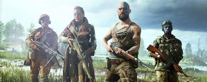Battlefield V xbox one PS4 et PC - 8 cartes en vidéo