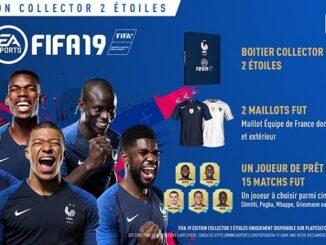 Fifa 19 édition collector 2 étoile
