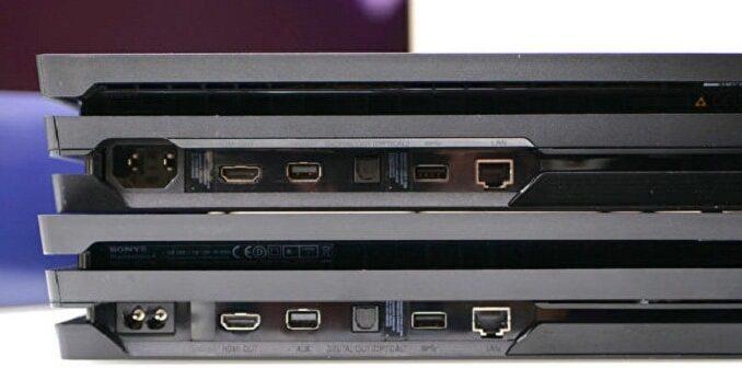 Nouveau modèle PS4 Pro CUH-7200 silencieux