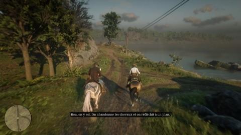 RDR II Chapitre 6 Mission Red Dead Redemption - Suivez Sadie à cheval