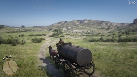 RDR2 Chapitre 2 Mission L'essence de la richesse - conduisez chariot petrole