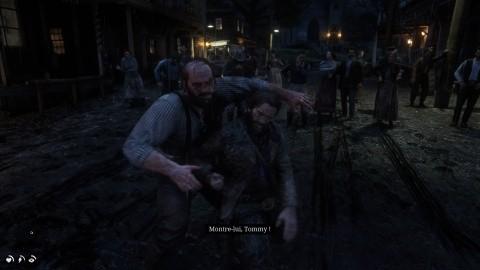 Red Dead Redemption 2 Chapitre 2 Mission Repos à l'américaine vous battre à mains nues