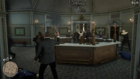 Red Dead Redemption 2 Chapitre 4 - Braquer la banque de Saint-Denis