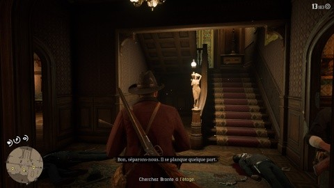Red Dead Redemption 2 - Surveillez la mini-map