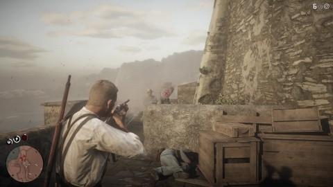 Red Dead Redemption II Chapitre 5 Mission Les enfers n'ont pas de pire furie - Fusil à double canon