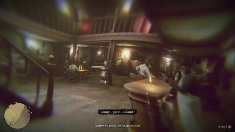 Red Dead Redemption 2 chapitre 2 Mission Une soirée tranquille - Trouvez Lenny