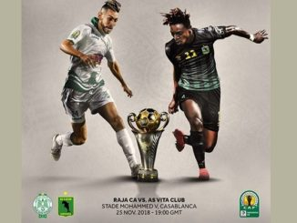 Raja Casablanca Vs Vita Club Regarder match en direct streaming live
