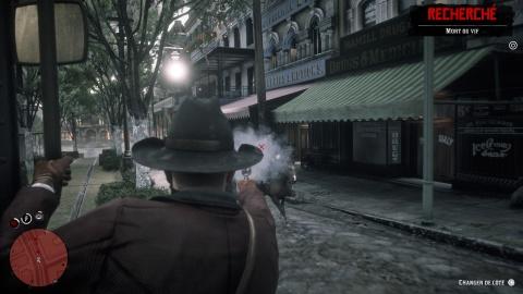 Red Dead Redemption 2 Chapitre 4 Mission Les plaisirs de la ville