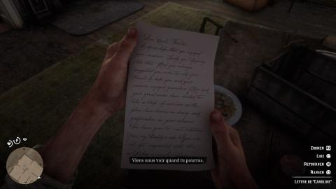 Red Dead Redemption 2 Chapitre 5 Mission Cher oncle Tacitus