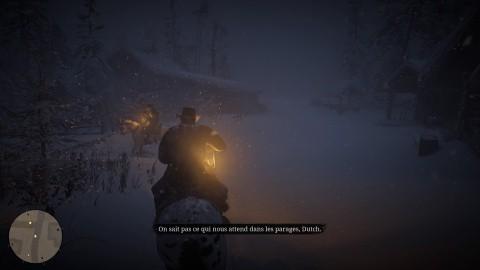 Red Dead Redemption 2 chapitre 1 Mission Les hors-la loi venus de l'Ouest Cheval