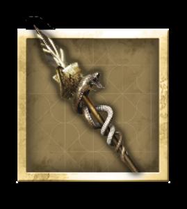 AC odyssey armes legendaire-Bâton d'Hemès Trismégiste