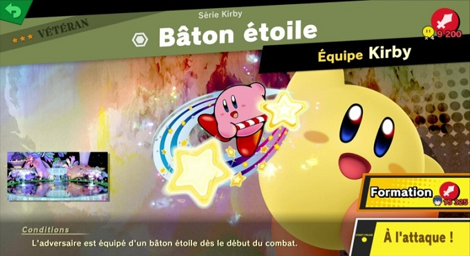 Bâton étoile - Guide combats Super Smash Bros Ultimate World of Light