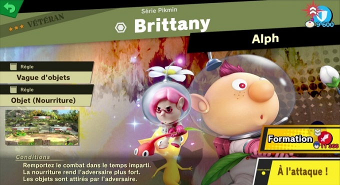 Britanny - Guide combats Super Smash Bros Ultimate World of Light 3 et 4 étoile