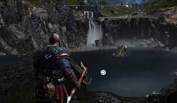 Carte au Trésor Île de Lumière Soluce complète God Of War PS4 2018