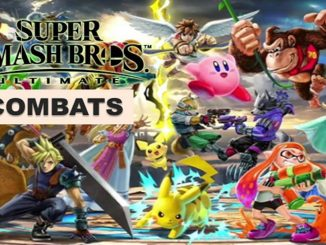 Combats SSBU World of Light 3 et 4 étoile
